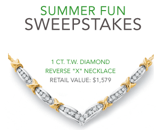 Zales Summer Fun Sweepstakes - Enter Online Sweeps