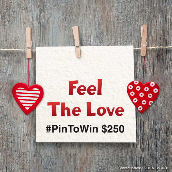 SignUpGenius Valentine's Day #FeelTheLove #PinToWin Contest