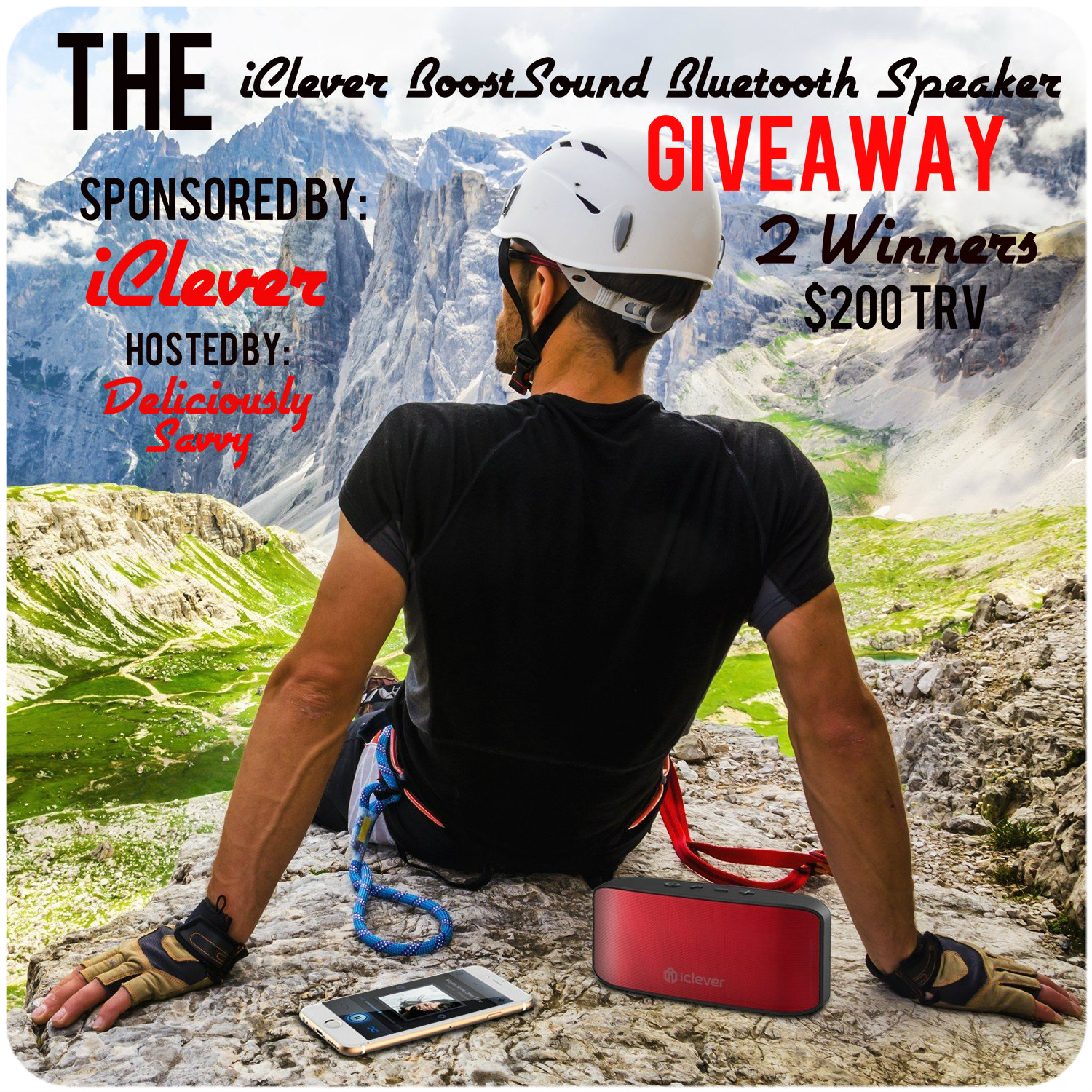 iClever BoostSound Bluetooth Speaker Giveaway