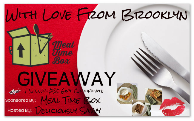With Love From Brooklyn Meal Time Box Giveaway!