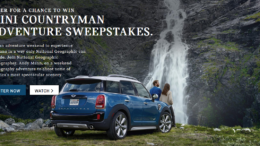 MINI Countryman Adventure Sweepstakes