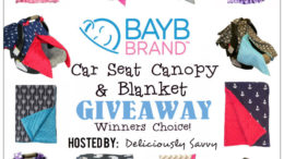 BayB Brand Car Seat Canopy & Blanket Giveaway