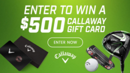 Callaway Golf Gift Card Sweepstakes