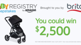 Amazon Baby Registry Britax Sweepstakes