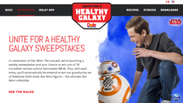 Healthy Galaxy Sweepstakes