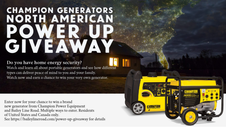 Power Up Giveaway