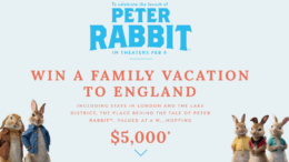 Joules Peter Rabbit Sweepstakes