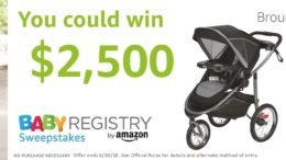Amazon Baby Registry Graco Sweepstakes
