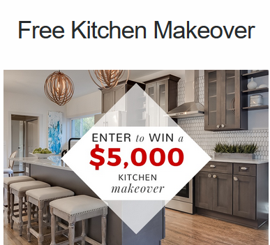 Kitchen Makeover Sweepstakes - Enter Online Sweeps