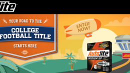 Autolite College Football Sweepstakes