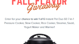 Fall Flavor Giveaway
