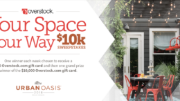 Your Space Your Way $10K Sweepstakes