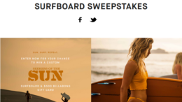 Seekers of the Sun Sweepstakes