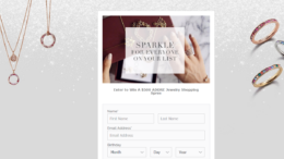 ADORE Jewelry Holiday Sweepstakes