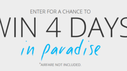 Sandals and Beaches Q1 Giveaway