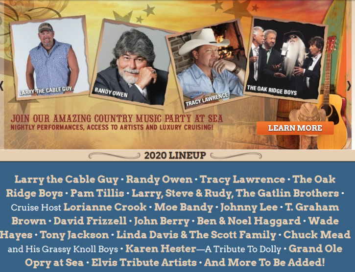 2020 Country Music Cruise Giveaway
