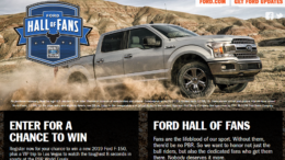 Ford PBR Hall of Fans Sweepstakes