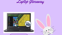 Win The Newest Acer Aspire 15.6 Laptop Giveaway