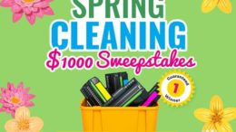 Spring Cleaning $1,000 Sweepstakes