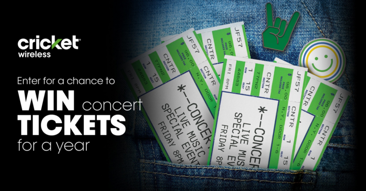 Concert Tickets For a Year Sweeps