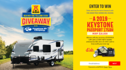 Keystone Behind the Sign Giveaway