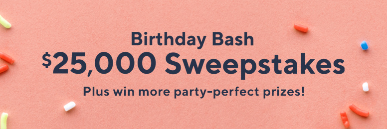 QVC Birthday Bash $25,000 Sweepstakes - Enter Online Sweeps