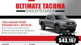 Ultimate Toyota Tacoma Sweepstakes