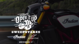 Open It Up Motorcycle Sweepstakes
