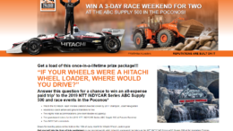 Hitachi Sweepstakes