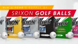 Srixon Golf Ball Giveaway