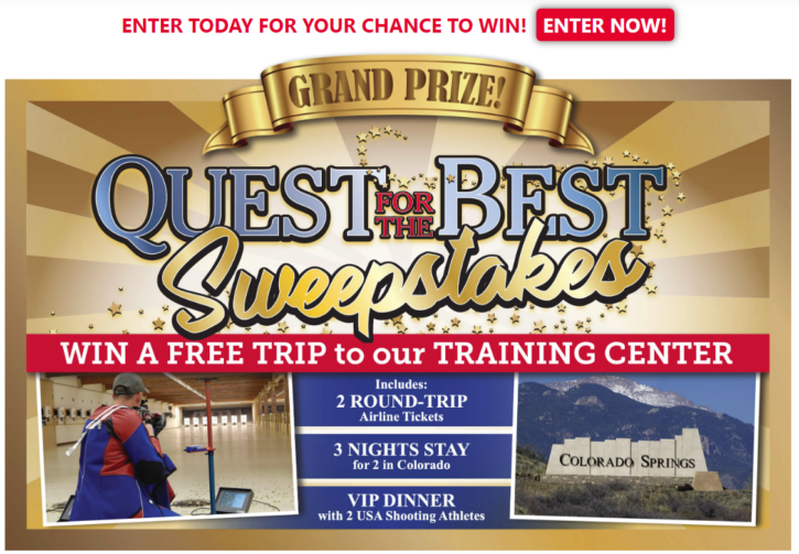 Quest for the Best Sweepstakes