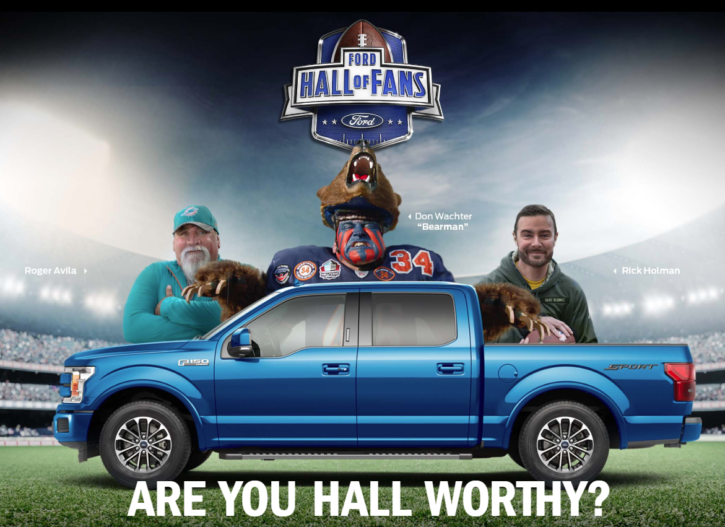 Ford Hall of Fans Sweepstakes