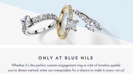 Blue Nile $10K Summer Sweepstakes