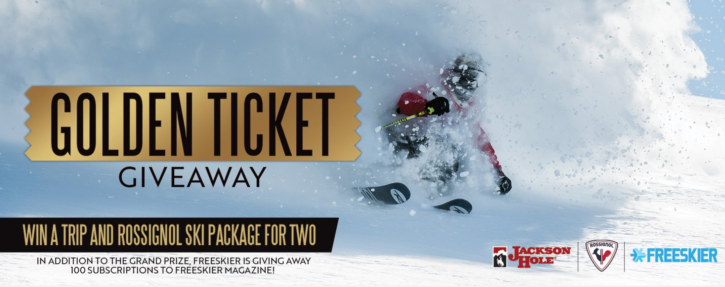 Jackson Hole Golden Ticket Giveaway