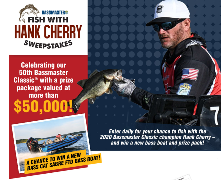 Fish With Hank Cherry Sweeps