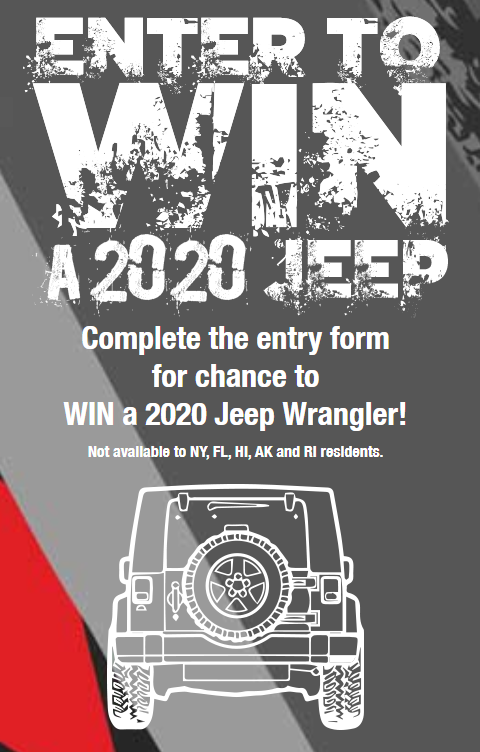 Jeep 2020 Sweepstakes